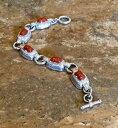 【送料無料】ネックレス judith ripkasterling carved red jasper toggle link braceletgorgeousjudith ripka sterling carved red jasper toggle link bra