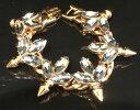 【送料無料】ネックレス ロンドンスワロフスキークリスタルリーフスパイクブレスレットmawi london gold plated swarovski crystal leaf and spike bracelet