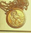 【送料無料】ネックレス 9ct chain 77gvintage 9ct gold georg jensen st christophervintage 9ct gold georg jensen st christopher on 9ct chain 77g