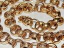 ショッピング26インチ 【送料無料】ネックレス 9ct gold onchunky26inch mens solid belcher chain heavy 1070グラム9ct gold on silver chunky 26 inch mens solid belcher chain