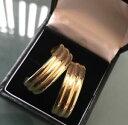 ネックレス サイズイヤリングスタンプゴールド9ct gold women's large in size earrings stamped