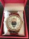 【送料無料】 腕時計 ベッツィージョンソンwクリスタルbj0024960bx betsey johnson mardi gras skull wcrown rose gold crystal bj0024960bx