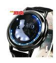 【送料無料】 腕時計 コナンマジックタッチdetective conan magic kaito kido led touch screen leather waterproof wristwatch