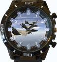 【送料無料】 腕時計 スポーツシリーズワシフライングウォッチf15 eagles flying over atlantic ocean trendy sports series gift wr..