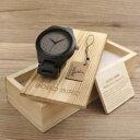 【送料無料】 腕時計 リンクbobo bird mensブラッククオーツwatc