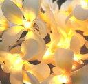 ハワイアン雑貨 インテリア雑貨 ハワイアン 雑貨 プルメリアガーランドランプ☆ ♪(イエロー) ハワイ お土産/ハワイアン雑貨 照明【ハワイアン 雑貨】ハワイ ...