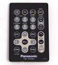 【中古】Panasonic カーオーディオ用リモコン YEFX9991455