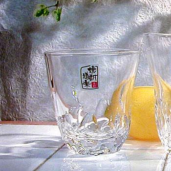 焼酎道楽 えくぼグラス【オンザロック】の商品画像