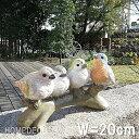 【送料無料】【オーナメント ガーデニング】子鳥 4羽の話【置物 鳥 トリ バード 動物 ガーデンオーナメント】【NP後払いOK】【c】