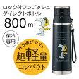 【送料無料】800ml ロック付ワンプッシュダイレクトボトル 保冷専用 SDMC8 スヌーピーフライングエース【P20Aug16】