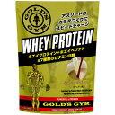 ゴールドジム ホエイプロテイン+ホエイペプチド&ビタミン カフェオレ風味 1500g