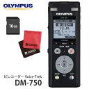 (SD16GBセット) オリンパス ICレコーダー DM-750 ブラック
