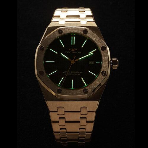 テクノス メンズ腕時計 T9539GN グラン...の紹介画像3