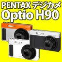 【送料無料&代引手数料無料!】ペンタックス Optio H90 1200万画素デジタルカメラ【カラー選択】