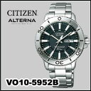 【送料無料】CITIZEN (シチズン)ALTERNA(オルタナ) VO10-5952B【エコ・ドライブ】