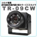 【送料無料!】コロナ電業赤外線投光器付小型カラーCCD防犯カメラTelstar TR-09CW