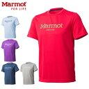 Marmot Tシャツ Marmot Logo QD H/S T(マーモットロゴキューディーハーフスリーブティー)MJT-S6034【メンズ用/男性用】【メール便不可】