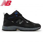 New Balance トレッキングシューズ TRAIL WALKING(DARK GRAY/BLUE) MO703HD1 【幅:4E】 【トレイルウォーキングモデル】【送料無料】【メール便不可】【ラッピング不可】