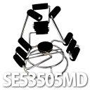 Esprima(エスプリマ) 腕時計スタンド(3本用) 回転スタンド SE53505MD 【ウォッチディスプレイスタンド】【メール便不可】