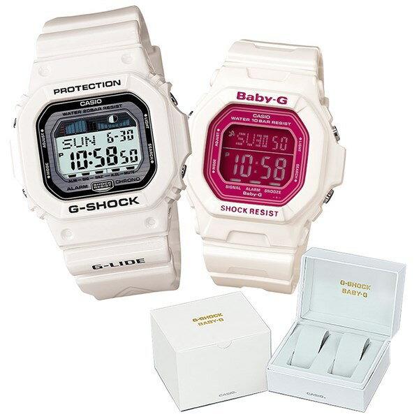 【専用ペア箱付きセット】 【国内正規品】 CASIO(カシオ) 【腕時計】 GLX-5600-7JF G-SHOCK メンズ・BG-5601-7JF BABY-G レディース・カシオ専用ペア箱 セット