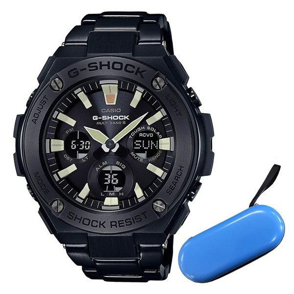 【セット】【1本用時計ケース付】 [カシオ]CASIO 腕時計 GST-W130BD-1AJF [ジーショック]G-SHOCK 世界6局対応電波ソーラー メンズ ショップ・オブ・ジ・エリア2016受賞!
