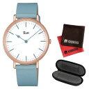 【セット】【国内正規品】[セイコー]SEIKO 腕時計 AKPK429 [アルバ リキ クオーツ]ALBA Riki メンズ&腕時計ケース1本用&クロス2枚セット【牛皮革(カーフ)バンド クオーツ】