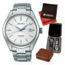 (セット)(国内正規品)(セイコー)SEIKO 腕時計 SARX055 (プレザージュ)PRESAGE メンズ&4本用時計ケース&クロス2枚セット【自動巻き アナログ表示】