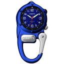 (正規品)DAKOTA(ダコタ) 3808-8 時計 クリップウォッチ ミニクリップ ブルー アウトドア