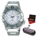 楽天ホームショッピング(2月新商品)(2月8日発売予定)(時計ケース・クロスセット)(国内正規品)(セイコー)SEIKO 腕時計 SBDC073 (プロスペックス)PROSPEX メンズ モンスター アイスブルー ネット限定モデル(ステンレスバンド 自動巻き(手巻付) アナログ)