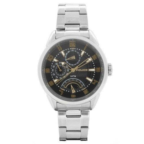 POLICE(ポリス)【正規輸入品】メンズ腕時計 FLASH 14407JS-02MA 文字盤:ブラック/ステンレススチールバンド【き手数料・送料無料】【メール便】 ショップ・オブ・ジ・エリア2016受賞!