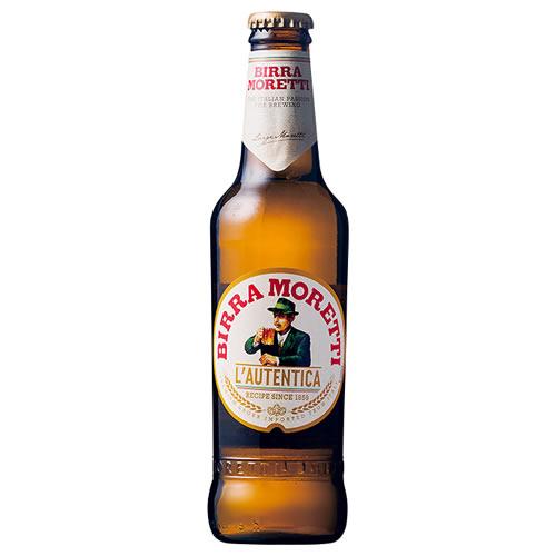 【イタリアビール】モレッティ ビール 330ml 瓶 24本入り 輸入ビール(ラッピング不可)