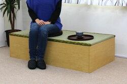 人気の高床式ユニット畳(1畳タイプ)畳ユニット畳収納畳ボックスい草イ草☆新品【日本製】【激安】