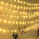 LEDストリングライト 星型装飾 防水 3M 20球 イルミネーションライト電池式 室外 装飾 結婚式 お庭など対応 パーティー 飾り ライト 正月 クリスマス 飾り バレンタインデー 電飾インテリア 雑貨 【autumn_D1810】送料無料
