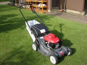 ホンダ芝刈り機HRX537(自走式)自走芝刈り機自走芝刈機【購入後も安心、点検整備・修理もおまかせ、送料無料・オイル充填始動確認】