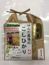無農薬 食用玄米「大地の恵み」1.5kg EM農法 無農薬栽...