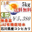 【送料無料】無農薬 有機米 白米 5kg「土の詩」安心安全 ...