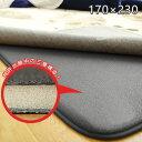 ラグ 厚手 ラグ専用下敷き ふかピタ3 170×230cm ラグ 防音 ふかふか 滑り止めシート スミノエ