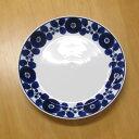 和食器 大皿(23.5cm) 白山陶器 ブルーム リース プレート(L)