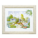 絵画 壁掛け 風景画/洋画 アートフレーム 『ピーターモッツ ハウスボード』 W72×H62cm