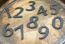 45数字【真鍮文字】【真鍮ナンバー 数字】【真鍮 表札】