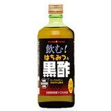 飲む!はちみつ&黒酢 500ml 国産玄米黒酢使用 お酢の売れ筋No1