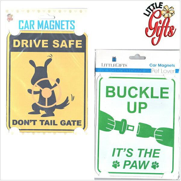 【SALE■メール便可】Little Gifts リトルギフト サイン カーマグネット 車に!冷蔵庫に!アクセントになるマグネットです。セール【再入荷なし/現品限り】