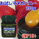お試しマヌカハニーUMF15+ 250g【無添加天然蜂蜜(は...