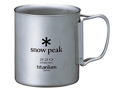 snow peak(スノーピーク)チタンダブルマグ 450 MG-053R