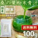 ● 桑の葉茶 国産 桑の葉 粉末青汁 100g < ノンカフェイン 血糖値 >[追跡対応メール便配送