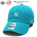 47 ローキャップ ボールキャップ 帽子 【B-BSRNR17GWS-NU】 フォーティーセブンブラ