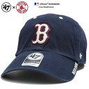 ショッピング商品 フォーティーセブンブランド 47BRAND 帽子 ローキャップ ボールキャップ CAP メンズ レディース 紺 男女兼用 b系 ヒップホップ ストリート系 ファッション ブランド ボストン レッドソックス 切替 刺繍 Fサイズ おしゃれ MLB 大リーグ ベースボール 刺繍 ICE02GWS