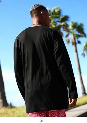 b系ヒップホップストリート系ファッションメンズレディースロンT【AF-TL-LT-001】≪BIGSPADEL/S≫エースフラッグACEFLAG長袖TシャツSMLXL2XL3XL大きいサイズ白金黒金正規品02P23Aug15【楽ギフ_包装】