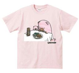 楽天ランキング入賞!アホ研究所 Gokigen-Factory 「ぶた×ポーク トンカツを食べる豚の親子」シュール系おもしろTシャツ ベビーピンク・黒 SサイズMサイズLサイズ 宴会イベントパーティーに!男女兼用のおシャレなTシャツ! 02P03Dec16【楽ギフ_包装】