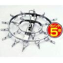 ●ポイント5倍●洗濯ハンガー からみにくいステンレスハンガー 丸型 20ピンチ 日本製 26449【代引不可】 [01]